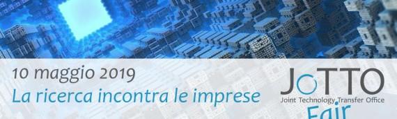"""JoTTO Fair """"La ricerca incontra le imprese"""" – seconda edizione"""