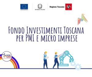 fondo investimenti toscana - aiuti agli investimenti
